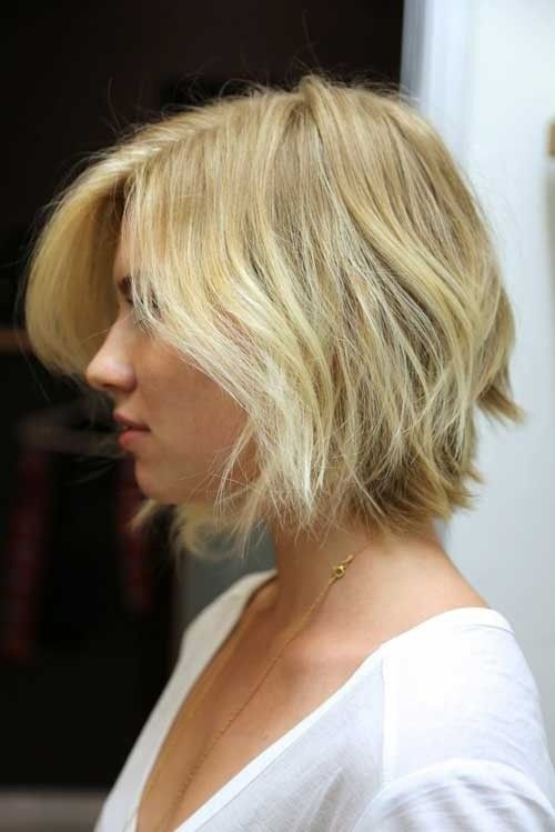 Short, shaggy hairstyle for blonde hair 4081455887648764