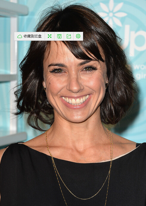 Constance Zimmer Short Bob with side bangs