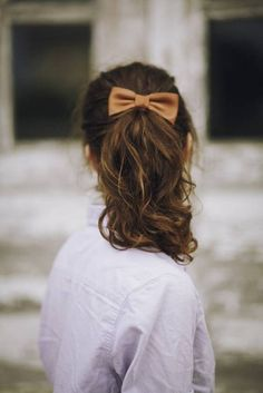 Ponytail hairstyle for school girls
