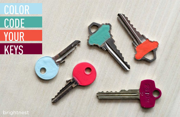 Color code your keys