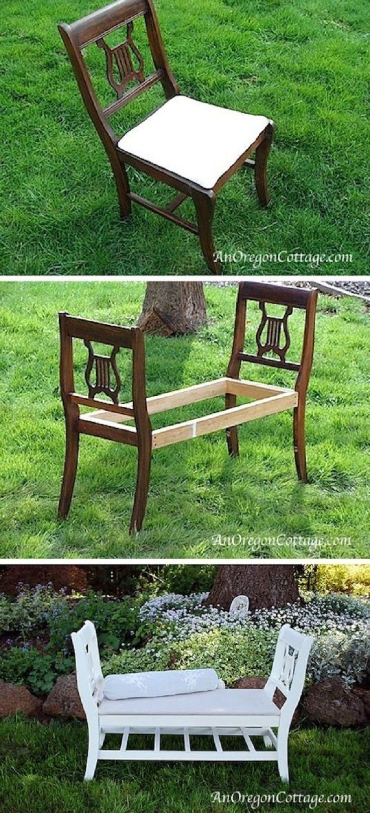 A French style bench