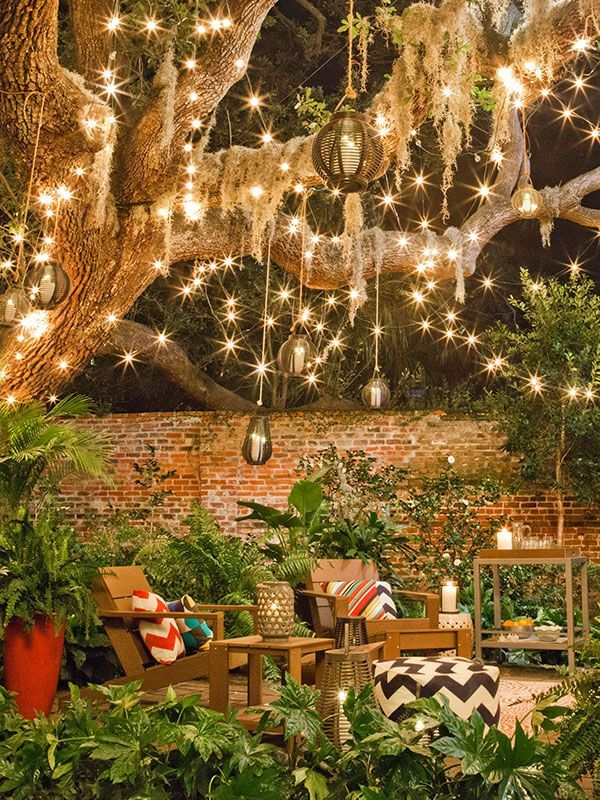 Lighting ideas for outdoors