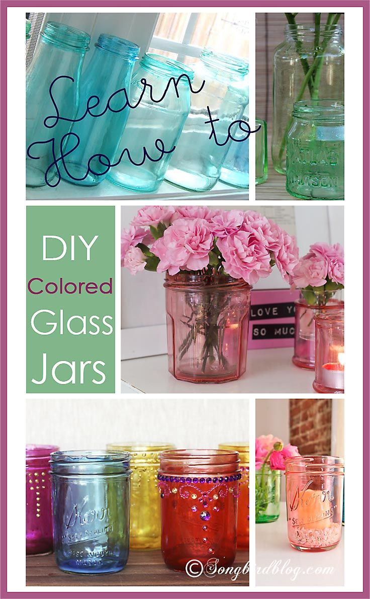 DIY colored glasses