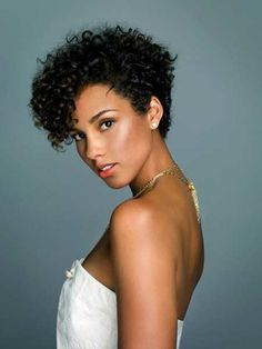 Great short hairstyle for black women