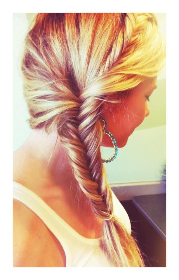 Breathtaking fishtail braid