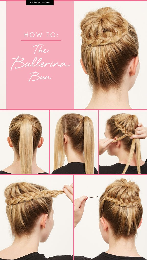 Braided Ballerina Bun Tutorial