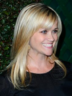 Layered blonde hairstyle for long faces Pinterest