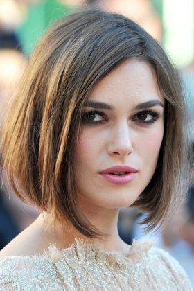 Classy bob hairstyle for long faces