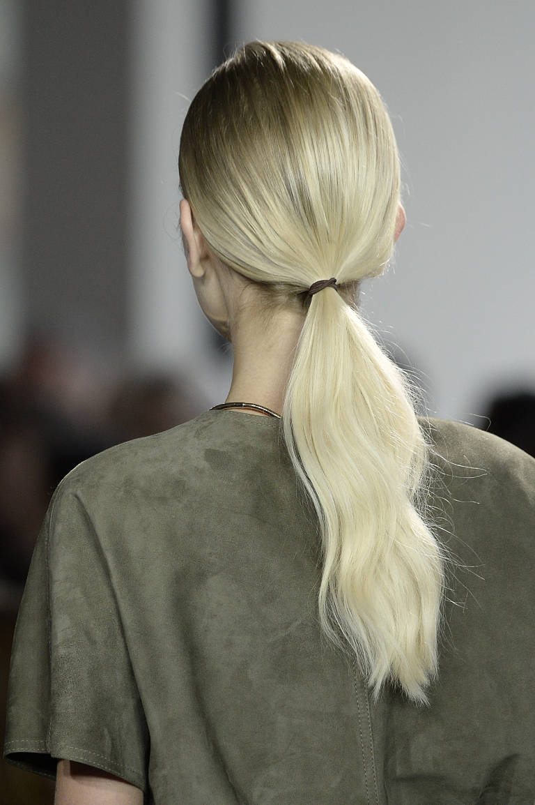 Simple ponytail hairstyle for 2015
