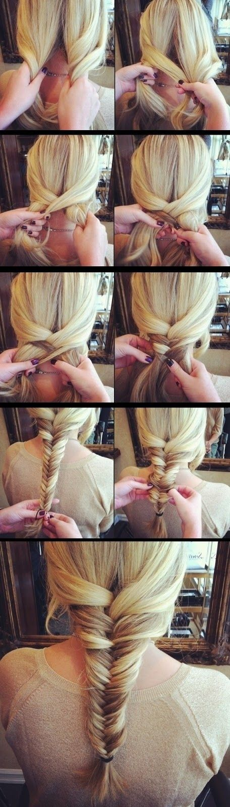 Breathtaking tutorial for braided hairstyles