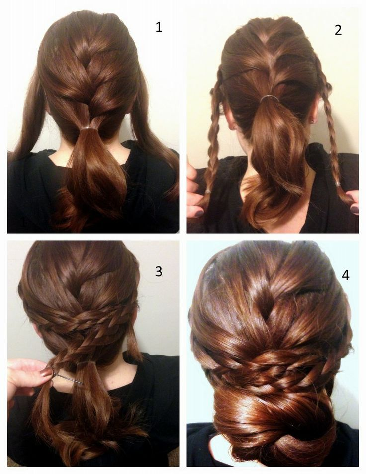 Breathtaking tutorial for braided updos