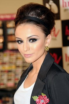Sleek bun for Cher Lloyd hairstyles