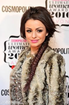 Breathtaking fishtail braid for Cher Lloyd hairstyles