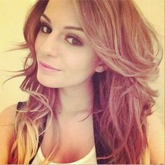 Stunning long wavy hair for Cher Lloyd hairstyles