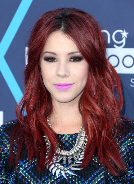 Jillian Rose Reed red wavy hairstyle