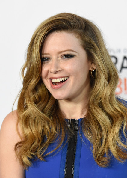 Natasha Lyonne Parted long curls