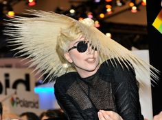Awesome Bun - Lady Gaga Hairstyles