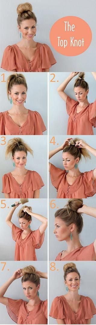 Simple topknot