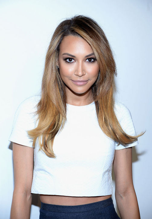 Naya Rivera's layered haircut