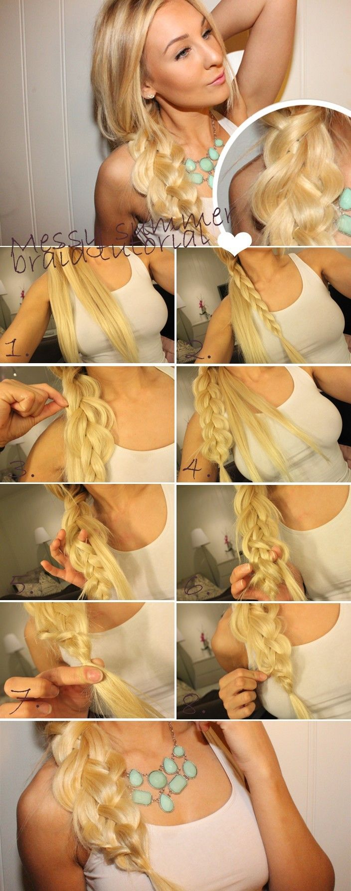 Chaotic side braid