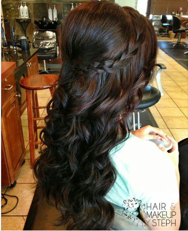 Half Up Half Down Hair for Prom Hairstyles