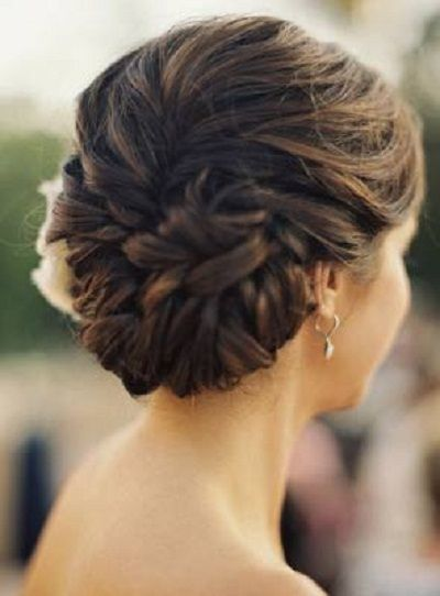 Elegant updo for prom hairstyles