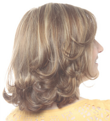 Hinged hairstyle