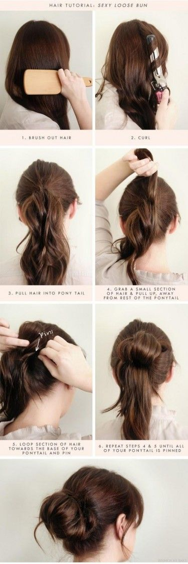 Funny updo