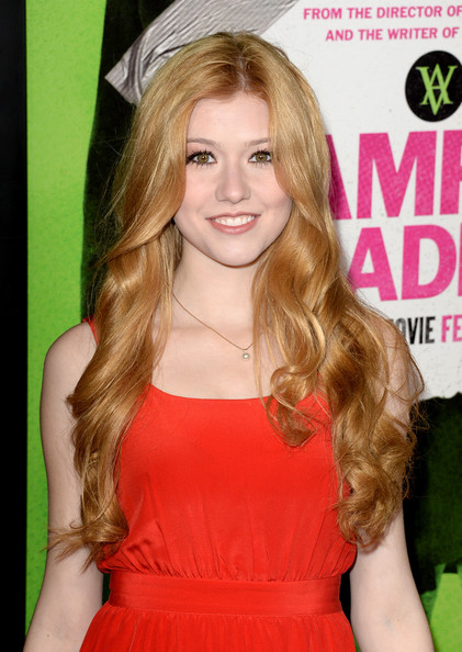 Katherine McNamara Long Curly Hair