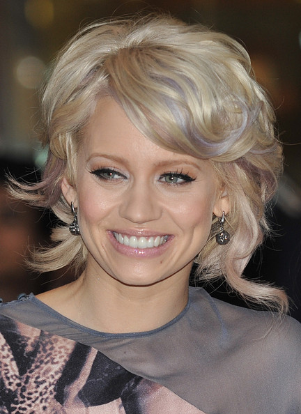 Kimberley Wyatt Short Curls