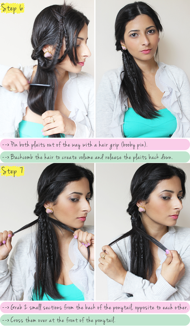 Boho-chic tutorial for braided hairstyles
