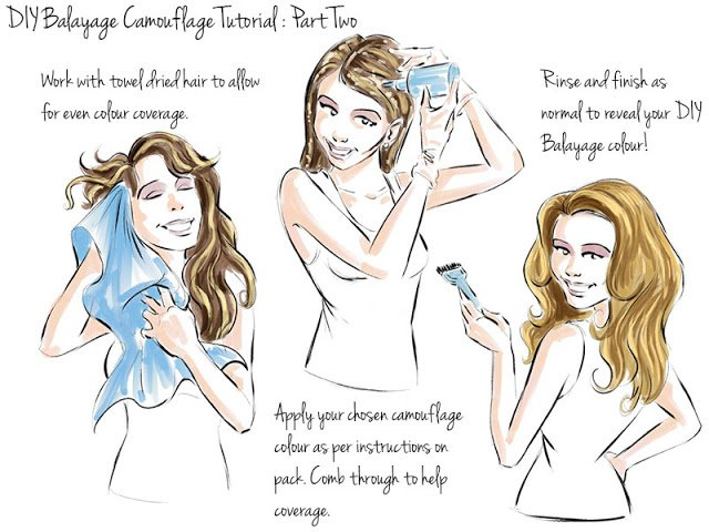How to dye hair at home part two