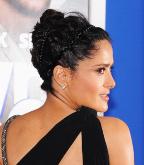 Salma Hayek French Twist / Getty Images