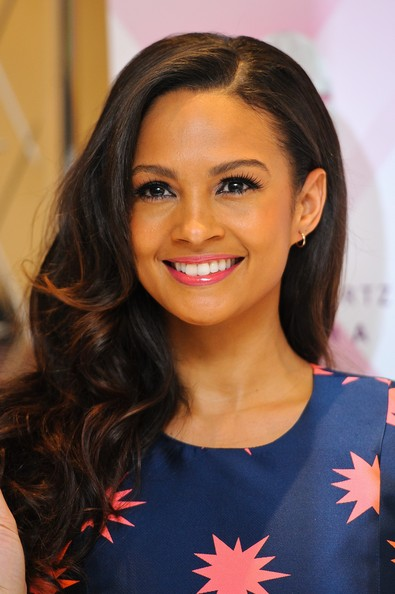 Alesha Dixon Long Curly Hair