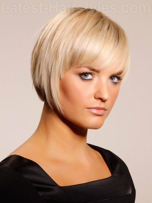 PLATINUM STUNNER BOB HAIRCUT