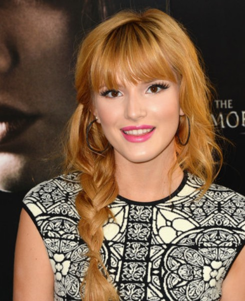 """Bella Thorne Braid / Getty Image """"width ="""" 458 """"class ="""" size-full wp-image-28127"""
