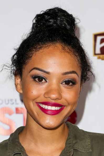 Kiersey Clemons Twisted Bun