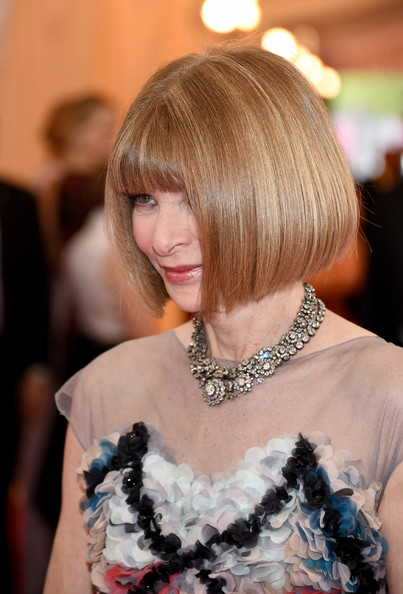 Anna Wintour Bob haircut