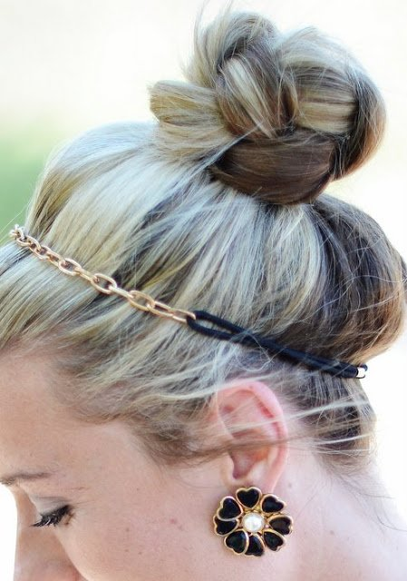 22. Braided topknot