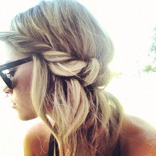 Boho twisted hair band