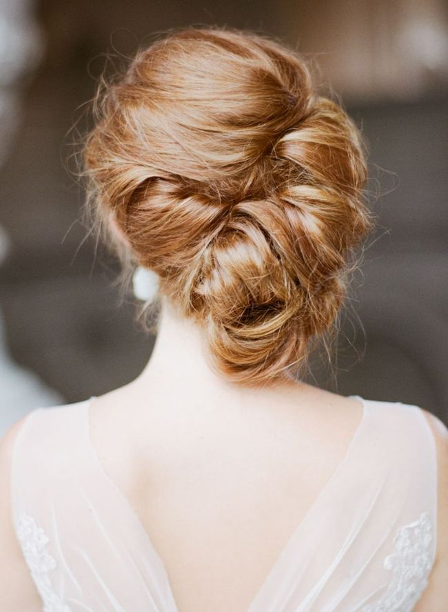 Chic updo for formal occasions
