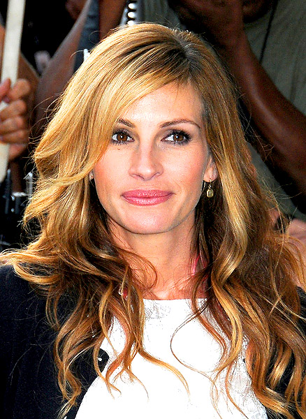 Julia Roberts & # 39; Long Bangs