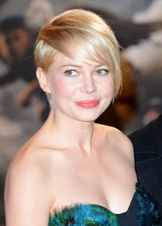 Michelle Williams & # 39; Pixie-Cut Bangs