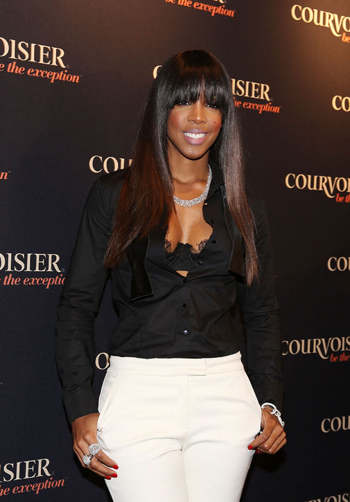 Kelly Rowland's longer bangs