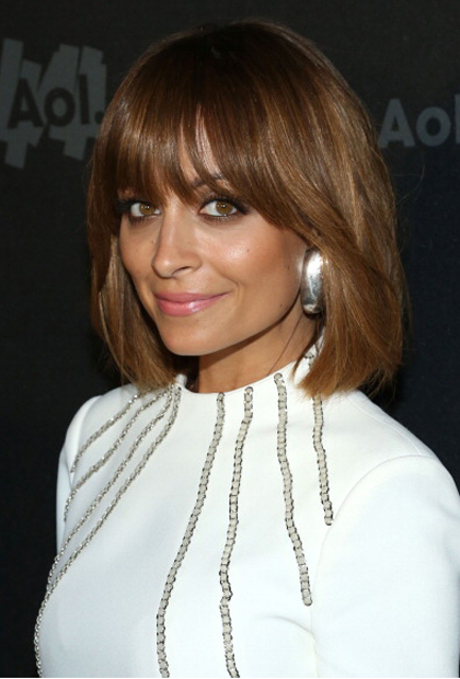 Nicole Richies Airy Bangs