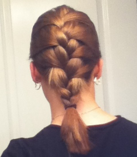 Nice french braid