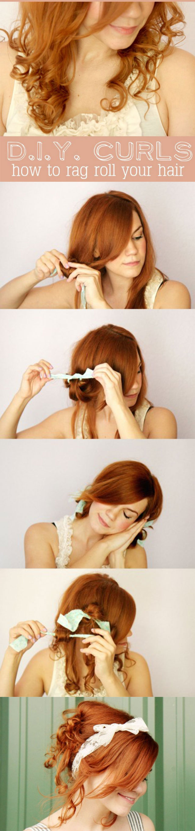HOW TO ROLL THE HAIR