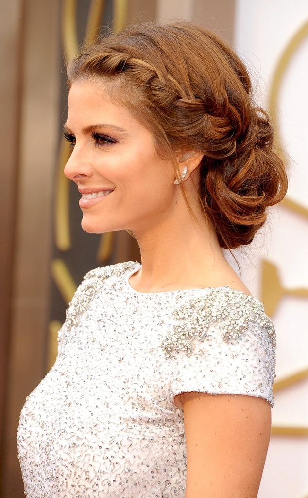 Braided updo for a romantic look