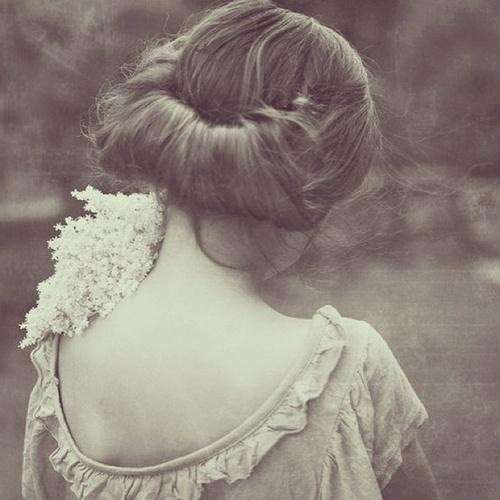 Romantic retro updo