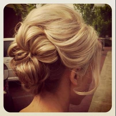Romantic Bobby Pinned updo